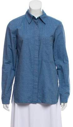See by Chloe Striped Button-Up Top