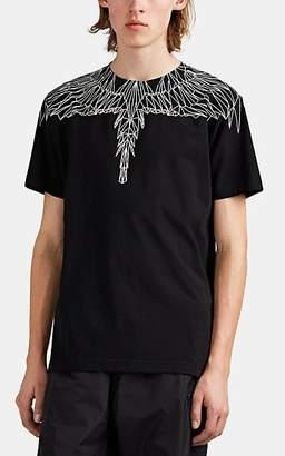 Marcelo Burlon County of Milan Men's Wing-Print Cotton T-Shirt - Black