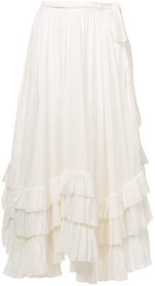 Polo Ralph Lauren belted long skirt