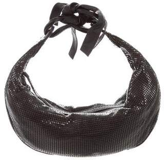 Chloé Leather-Trimmed Chain Mail Hobo