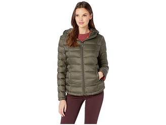 French Connection Hooded Short Puffer Women's Coat