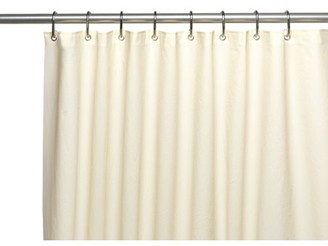 """Carnation Home Fashions Jumbo Long, """"Clean Home"""" Liner in Ivory"""