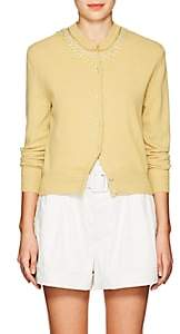 Marc Jacobs Women's Embellished Wool-Cashmere Cardigan-Yellow