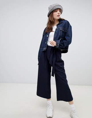 Asos (エイソス) - Asos Design ASOS DESIGN mix & match culotte with tie waist