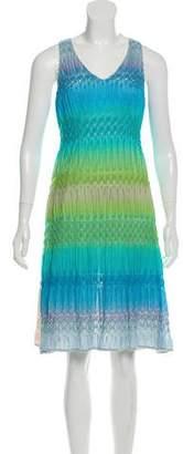 Missoni V-neck Knee-Length Dress w/ Tags