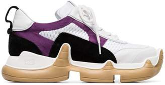 Swear white and purple large Nitro sneakers