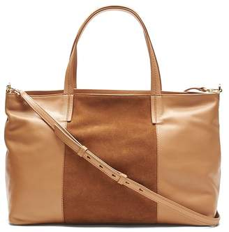 Banana Republic Portfolio Slouchy Convertible Tote with Suede Panel