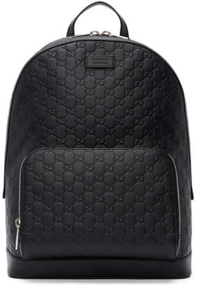 Gucci Black Signature Backpack
