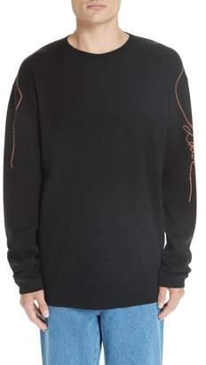 Loewe Logo Jacquard Wool Sweater