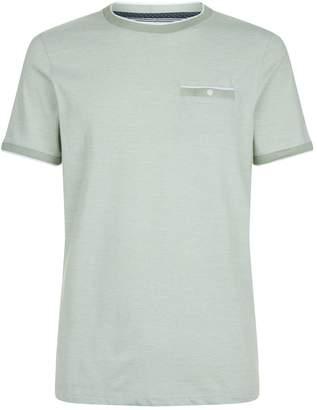 Ted Baker Pedtee Stripe Print T-Shirt