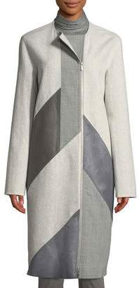 Lafayette 148 New York Rue Atrium Double-Face Coat