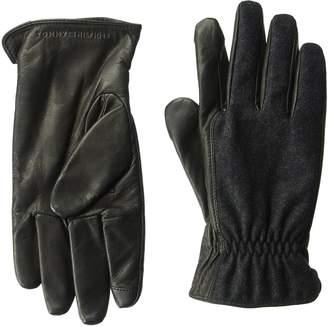 Tommy Hilfiger Unisex Basic Knit Inset Winter Glove