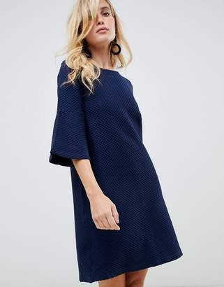 French Connection Paros bell sleeve shift dress