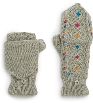 Nirvanna Designs Lucy In The Sky Flip Top Mittens