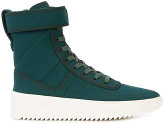 Fear Of God hi-top ankle strap sneakers