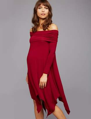 BCBGMAXAZRIA Pea Collection Josanna Maternity Dress
