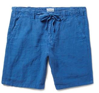 Hartford Slim-Fit Linen Drawstring Shorts