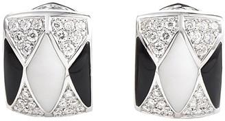 Heritage Oro Trend 18K 1.30 Ct. Tw. Diamond & Gemstone Drop Earrings