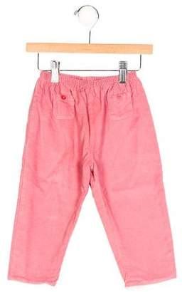 Marie Chantal Girls' Corduroy Straight-Leg Pants