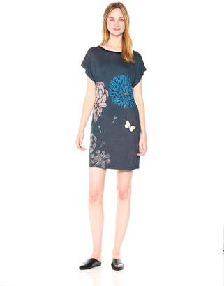 Desigual Women's Ginger Woman Knitted Short Sleeve Dress