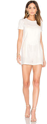 Dolce Vita Estella Romper in White $150 thestylecure.com