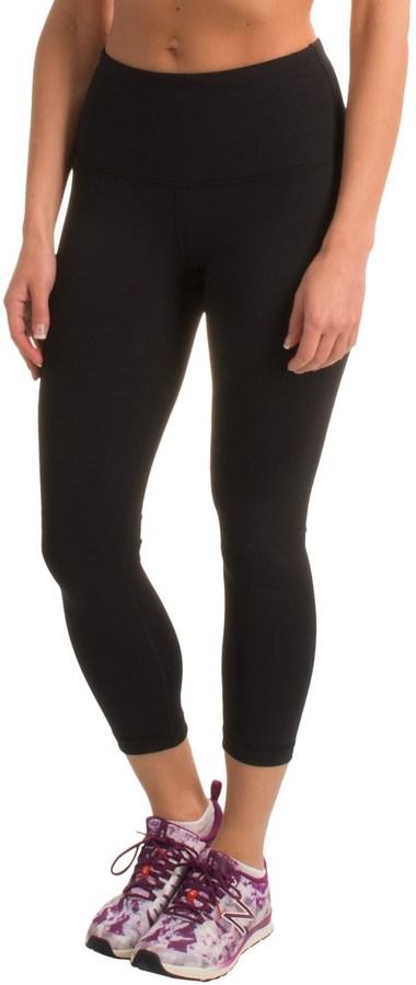 90 Degree by Reflex High-Waist Capri Leggings (For Women)