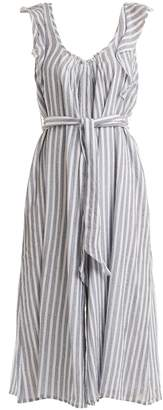 Apiece Apart Highland striped wide-leg jumpsuit
