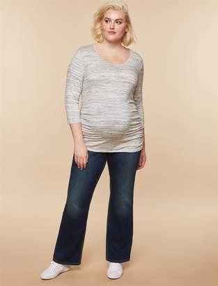 Motherhood Maternity Jessica Simpson Plus Size Secret Fit Belly Dark Boot Maternity Jeans