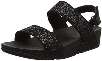FitFlop Women's Glitterball Open-Toe Sandals,7 UK