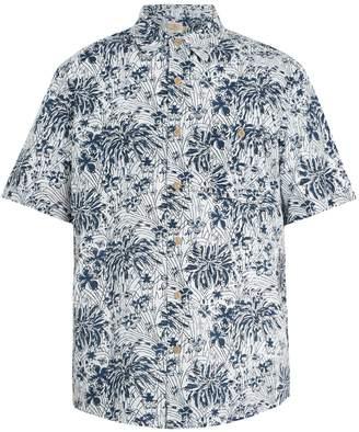 Faherty Coast poppy-print cotton shirt