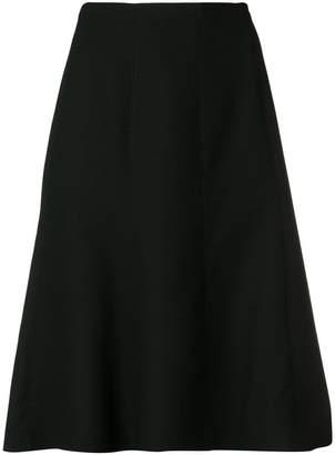 Salvatore Ferragamo A-line midi skirt