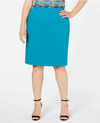 ec6675af8 Calvin Klein Plus Size Pencil Skirt