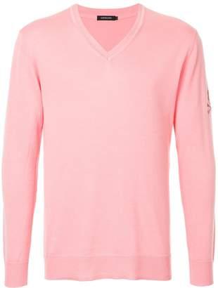 Loveless V-neck fitted sweater