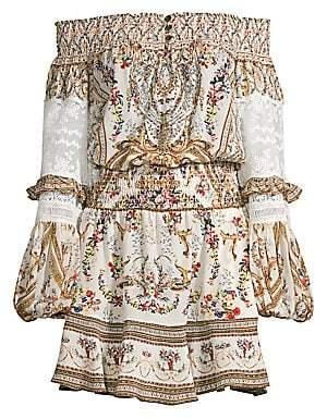 Camilla Women's La Fleur Libertine Off-The-Shoulder Mini Dress
