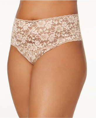 Hanky Panky Plus Size Retro Lace Thong 591924X