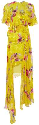 Preen by Thornton Bregazzi Nickesha Floral Asymmetric Dress