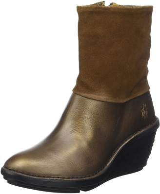 Fly London Womens Sina 671 Leather Boots 39 EU