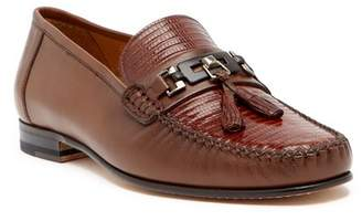 Mezlan Cafaro Genuine Lizard Tassel Loafer
