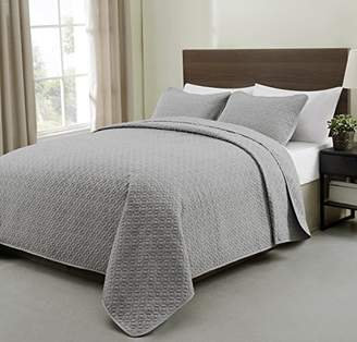 Cozy Beddings S1604-4T Allyson 3Pc Quilted Bedspread Coverlet