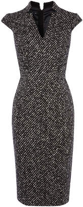 Karen Millen Tweed Pencil Dress