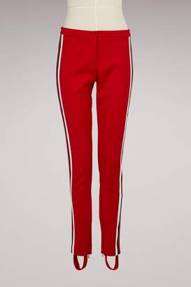 Gucci Jersey Stirrup Webbed Leggings