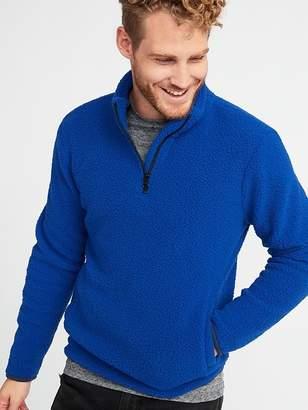 Old Navy 1/4-Zip Sherpa Pullover for Men