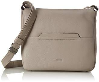 Bree Faro 2, Vintage Khaki, Cross Shou. M S18, Women's Shoulder Bag, Grau (Vintage), 9x30x29 cm (B x H T)
