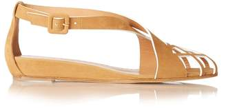 Alexa Wagner Pocahontas cut-out suede sandals
