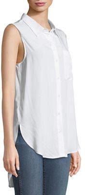 Velvet Heart Madden Sleeveless Button-Front Tunic