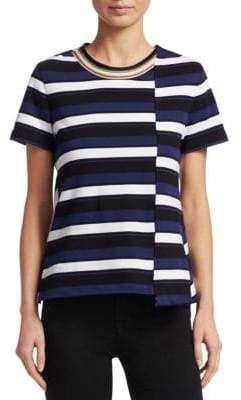 3.1 Phillip Lim Striped Twist Back Top
