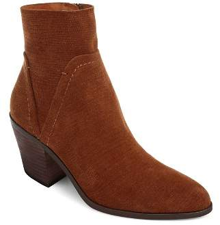 Splendid Women's Cherie Leather Block Heel Booties