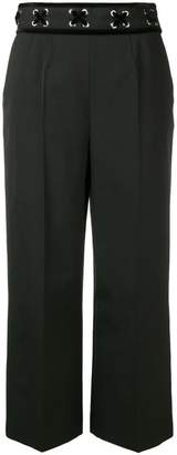 RED Valentino cropped high rise trousers