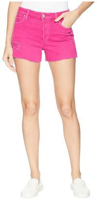 Joe's Jeans High-Rise Smith Shorts in Hot Pink Women's Shorts