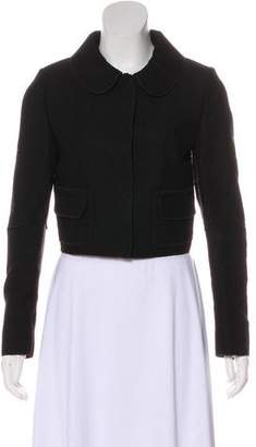 Dolce & Gabbana Collared Wool-Blend Jacket
